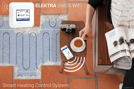 Wifi thermostaat OWD5 elektrische vloerverwarming